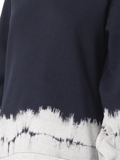Stella McCartney Navy tie-dye sweatshirt