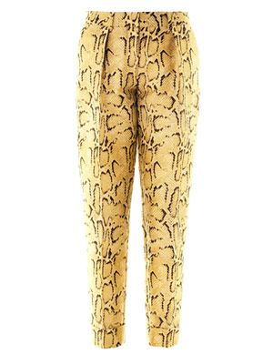Frankie snake-jacquard tailored trousers