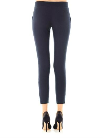 Stella McCartney Velez skinny-leg tailored trousers