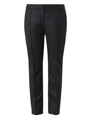 Anna straight-leg tailored trousers