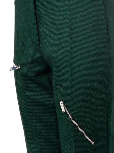 Stella McCartney Bob wool-blend zip trousers