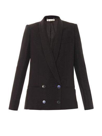 Stella McCartney Shiles snake jacquard tailored jacket
