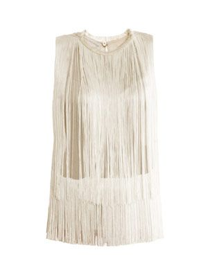 Columbia fringe blouse