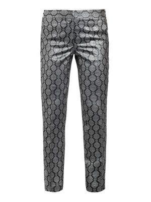 Alfred brocade trousers