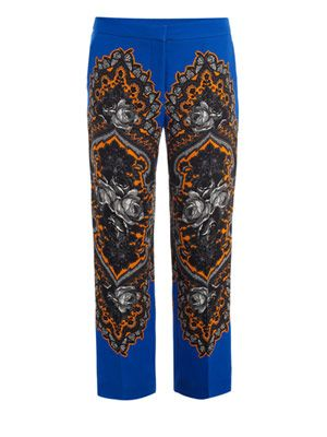 Hamilton ornate floral trousers