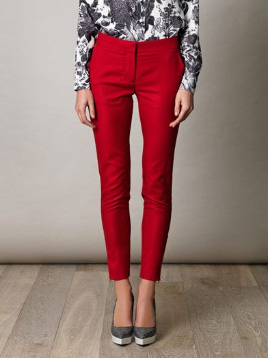 Stella McCartney Velez skinny trousers