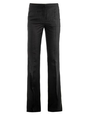 Carlton boot-cut trousers