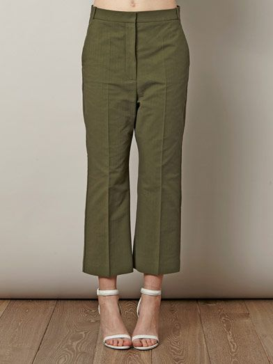 Stella McCartney Nadja cotton trousers