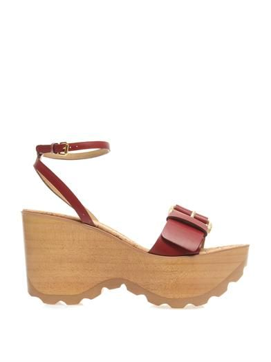 Stella McCartney Linda wedge sandals