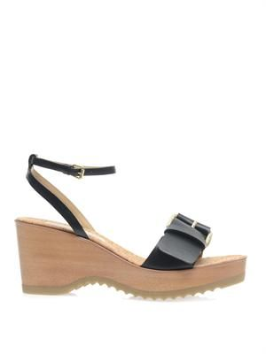 Linda wedge sandals