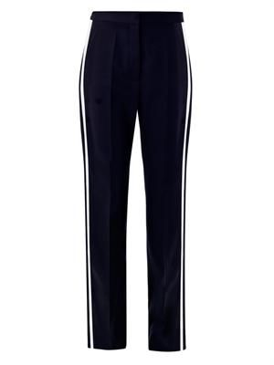 Cyrille wool tux trousers