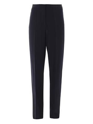 Pelice high-rise wide trousers