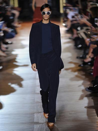 Stella McCartney Pelice high-rise wide trousers