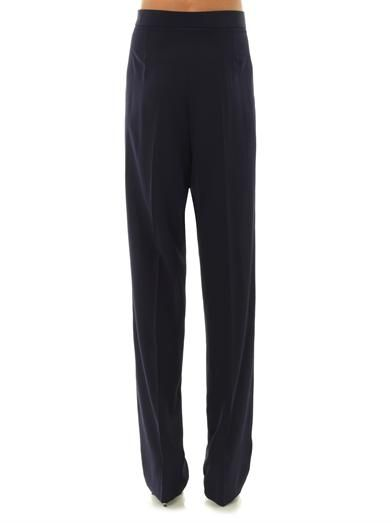 Stella McCartney Pelice high-rise wide trousers