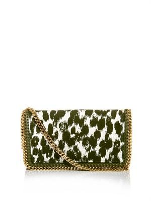 Falabella printed cross body bag