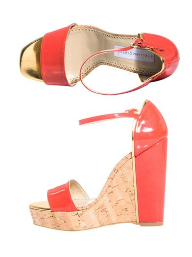 Stella McCartney Laura wedges