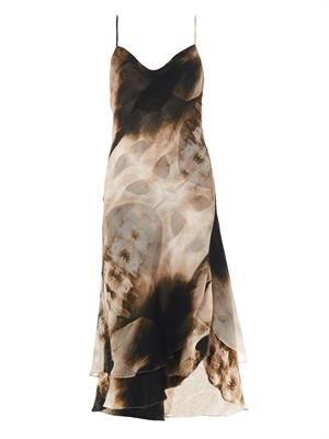 X-ray print slip dress