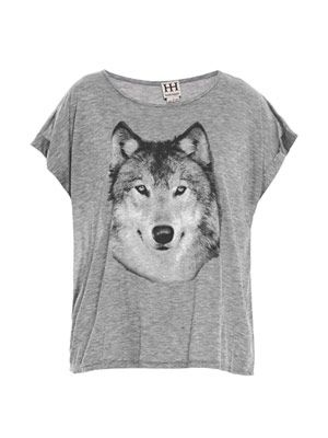 Hungry Like the Wolf sheer T-shirt