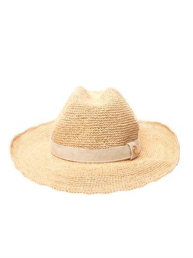 Heidi Klein Raffia cowboy hat