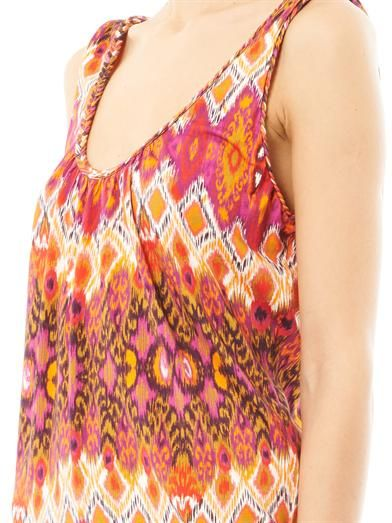 Heidi Klein Rio print sun dress
