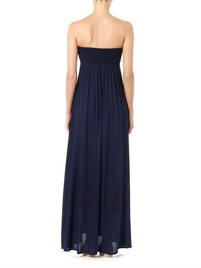 Heidi Klein Ravello bandeau maxi dress