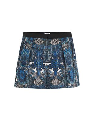 Mandala wet-print volume shorts