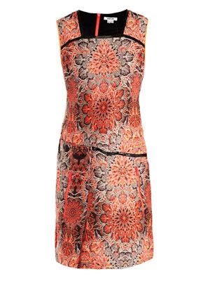 Medalion jacquard dress