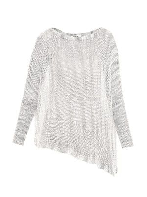 Marl batwing sweater
