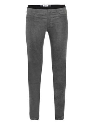 Patina stretch-leather trousers