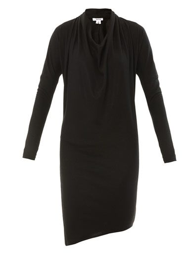 Helmut Lang Sonar wool dress