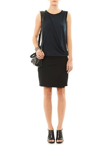 Helmut Lang Emission sleeveless dress