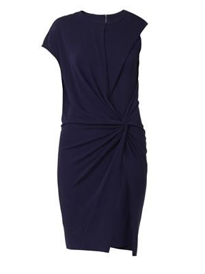 Helix-jersey knot dress