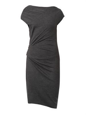 Sonar wool-jersey dress