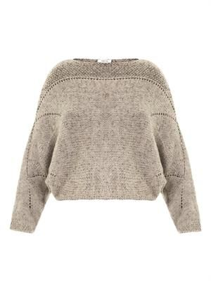 Polar bay alpaca-blend sweater