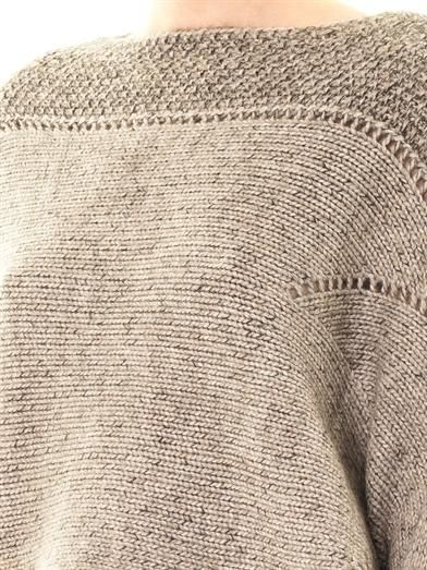 Helmut Lang Polar bay alpaca-blend sweater