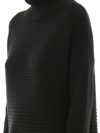Helmut Lang Cash horizontal ribbed-knit sweater