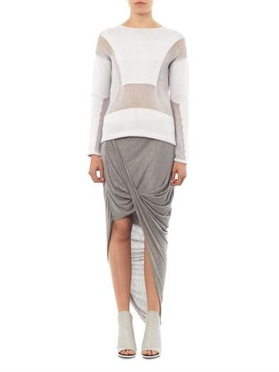 Helmut Lang Inverse texture sweater