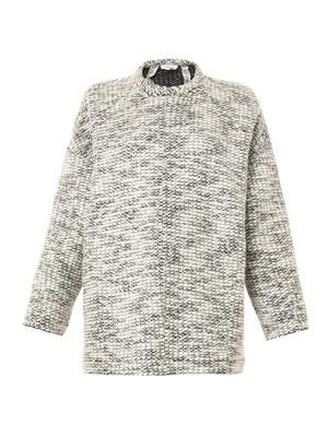 Source melange-knit sweater