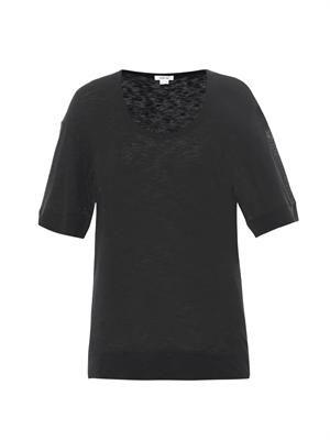 Corrosion slub-jersey T-shirt