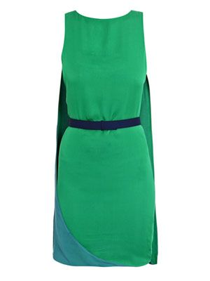 Cape colour-block dress
