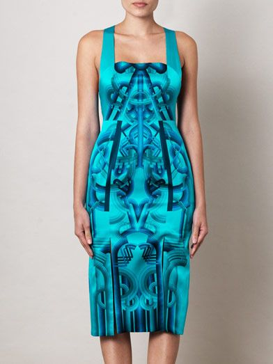 Holly Fulton Jane printed silk dress