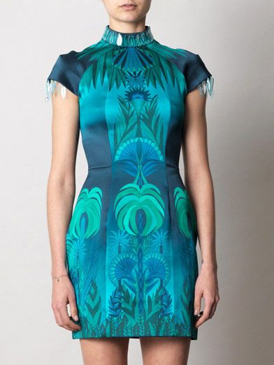 Holly Fulton Jungle Fever dress