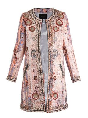 Juliana embellished coat