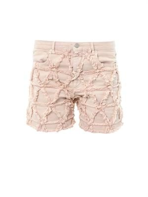 Gustave frayed denim shorts