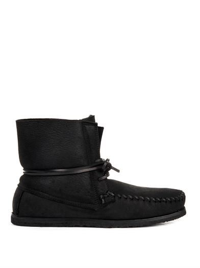 Isabel Marant Eve suede moccasin ankle boots