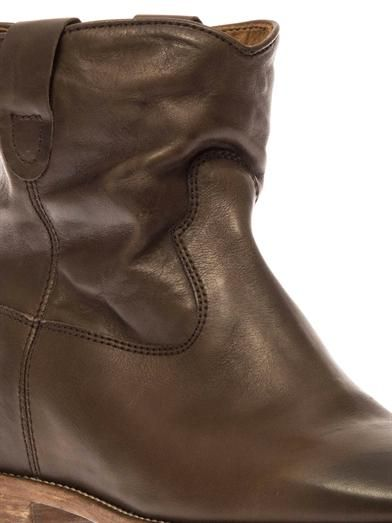 Isabel Marant Cluster leather ankle boots
