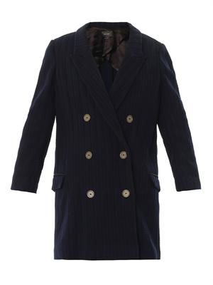 Ellery double-breasted coat