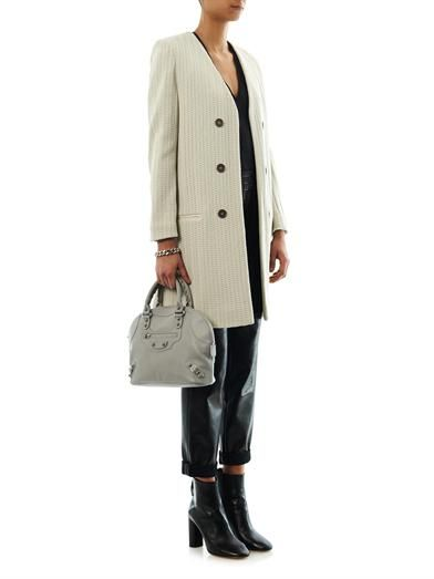 Isabel Marant Emi collarless coat
