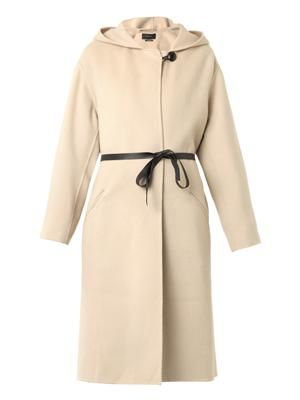Hacene belted coat