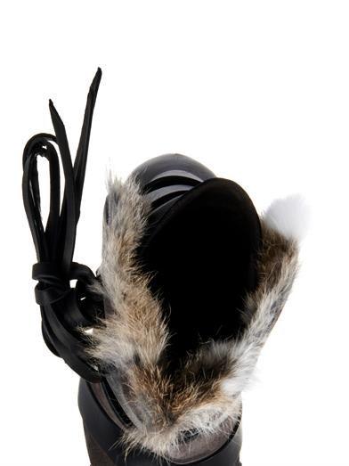 Isabel Marant Neta fur-trimmed suede boots